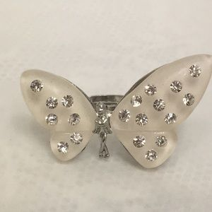 Adjustable Fairy Pixie Butterfly Wing Ring